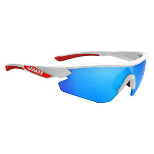 Salice 012 RW Sport Sunglasses - White/Blue