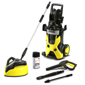 Karcher - K5 Pressure Washer with T400 Patio Cleaner