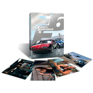 Fast and Furious 6 - Zavvi Exclusive Limited Edition Steelbook (Includes UltraViolet Copy and Exclusive Art Cards)