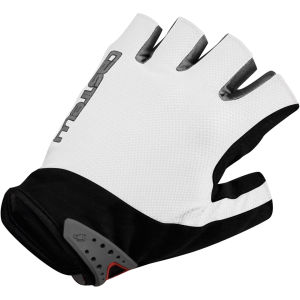 Castelli S Uno Gloves - White/Black