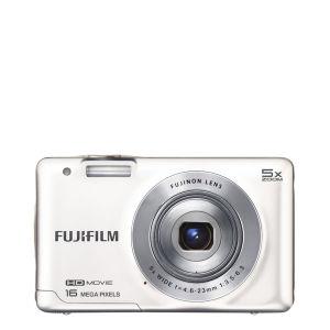 Fujifilm FinePix JX660 Digital Camera (16MP, 5x Optical Zoom, 2.7 Inch LCD) - White