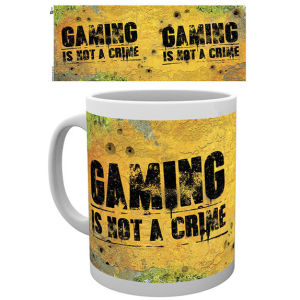 Gaming Not a Crime Mug