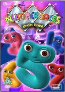 Numberjacks - Brain Gain!
