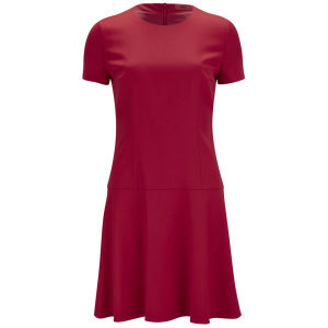 HUGO Women's Kiril Flared Skirt Dress - Bright Red
