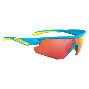 Salice 012 RW Sport Sunglasses - Turquoise/Red