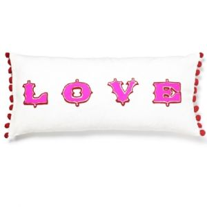 Barbara Coupe Love Cushion