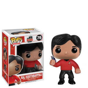 The Big Bang Theory Raj Star Trek Pop! Vinyl Figur