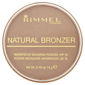 Rimmel Natural Bronzer Poudre bronzante - Sun light