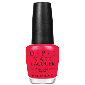 OPI Nail Varnish - Red Light Ahead...Where? (15ml)