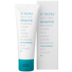 St Tropez Self Tan Sensitive Un-Tinted Body Lotion (200ml)