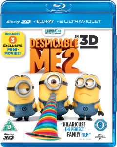 Despicable Me 2 3D (Bevat 2D Blu-Ray en UltraViolet Copy)