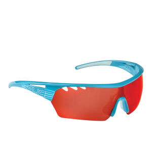 Salice 006 RW Sports Sunglasses - Mirror - Turquoise/Red