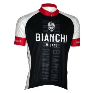 Bianchi Edoardo1 Short Sleeve Jersey - Black/White