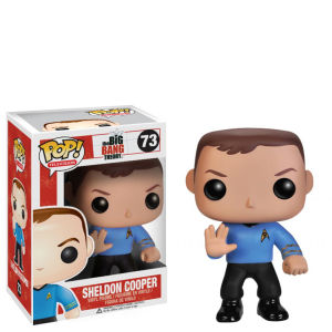 The Big Bang Theory Sheldon Star Trek Funko Pop! Vinyl