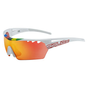 Salice 006 CDMRWP Sunglasses - White/Mirror Polarised Red