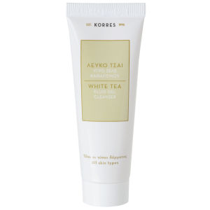 KORRES Natural White Tea Facial Fluid Gel Cleanser -geelipuhdistusaine, matkakoko 16ml