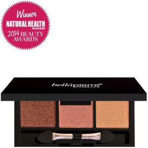 Bellápierre Cosmetics 3 Eyeshadows Palette 24K Taupe