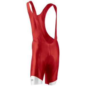 Sugoi Rs Pro Bib Shorts - Red