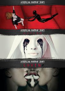 American Horror Story - Temporadas 1-3