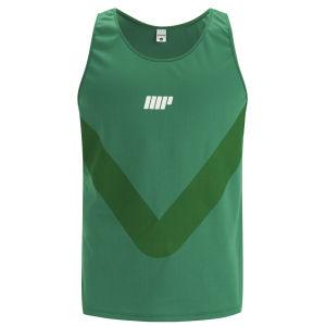 Myprotein Men's Racer Back Running Vest  - Green