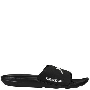 Speedo Men's Core Slide Shoe - Black/White