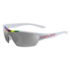 Salice 011 CDMCRX Sunglasses - White/Photochromic Smoke