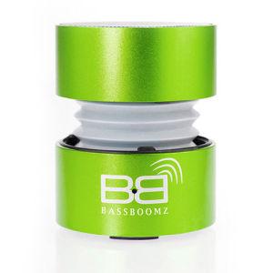 BassBoomz High Performance Tragbare Bluetooth Lautsprecher, grün