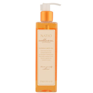 Natio Wellness Shower & Bath Gel -suihku- ja kylpygeeli (275ml)