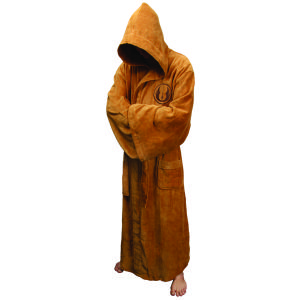 Star Wars Jedi Adult Towelling Bathrobe (One Size)