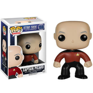 Star Trek: The Next Generation Captain Jean-Luc Picard Funko Pop! Figuur