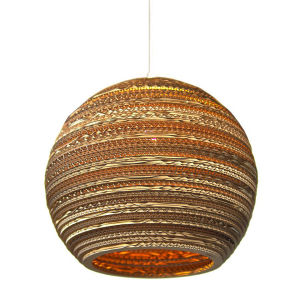 Graypants Moon Pendant Lamp - 14 Inch