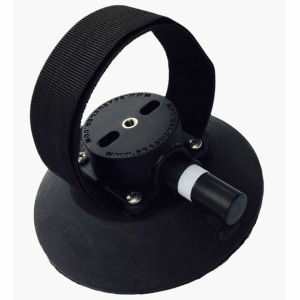 SeaSucker Rear Wheel Strap 6 Inch Vacuum Mount with Velcro Strap for Holding Rear Wheels