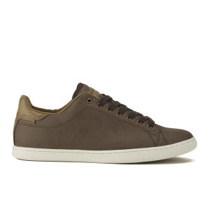 Jack & Jones Men's Brooklyn PU Trainers - Brown