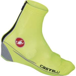 Castelli Nano Shoecover Socks - Yellow