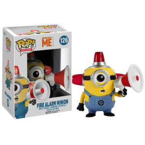 Despicable Me: Fire Alarm Minion - POP! Vinyl Figure