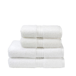 Christy Plush Towel - White