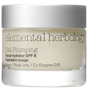 Hidratante facial replenadora Elemental Herbology Cell Plumping SPF8 50ml