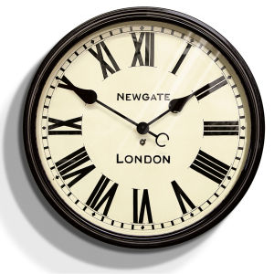 Newgate The Battersby Clock - Black