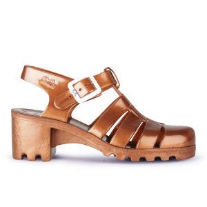JuJu Women's Babe Heeled Jelly Sandals - Copper