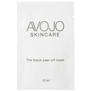 Avojo - The Black Peel Off Mask - Φακελάκι (10 ml x 4)
