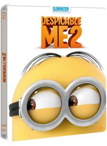 Gru 2, mi villano favorito Steelbook Exclusivo de Zavvi Edición Limitada (incluye copia UV) -
