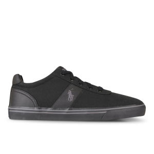 Polo Ralph Lauren Men's Hanford Trainers - Black/Charcoal