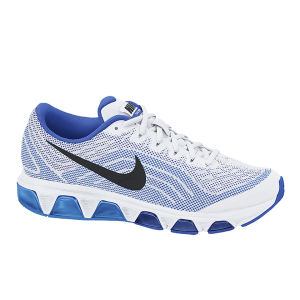 Nike Men's Air Max Tailwind Running Shoes - White/Cobalt Blue