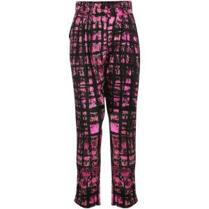 Motel Womens Susan Print Trouser - Check