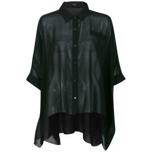 Vero Moda Women's Pearly Boxy Blouse - Black