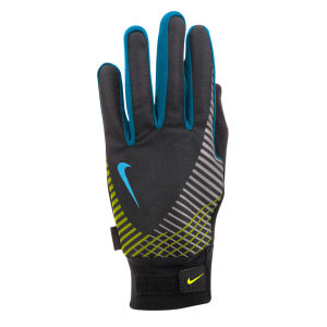 Nike Men's Elite Storm Fit Tech Run Glove - Black/Anthracite