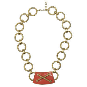 Laura Biagiotti Vintage Gold Plated Chunky Chain Necklace