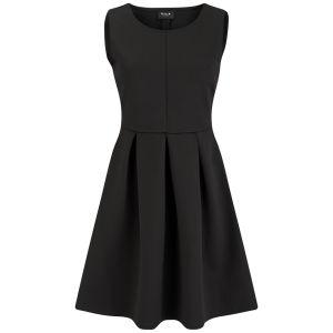 VILA Women's Fact Skater Dress - Black