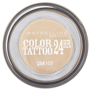 Maybelline New York Eyestudio Colour Tattoo 24 Hour Cream Gel Shadow - Eternal Gold 05