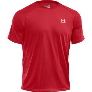Under Armour Men's Tech T-Shirt - Red/White